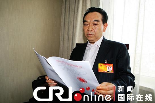 张正贵代表:高科企业应提升竞争力摒弃山寨产品
