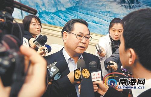 海南省书记省长纵论国际旅游岛建设(图)