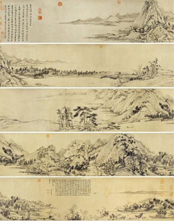 资料:《富春山居图》及简介(图)