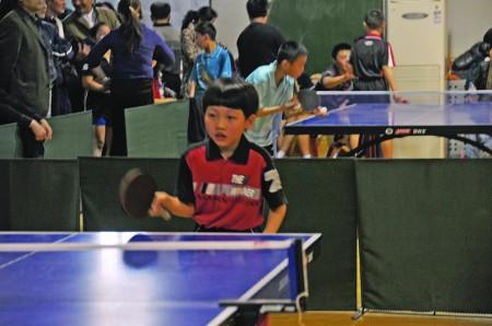 少年儿童乒乓球比赛