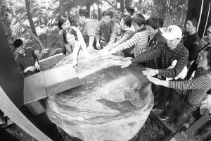 这是小美人鱼诞生96年来第一次离开丹麦远