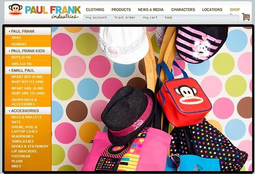 美国潮流品牌PaulFrank大嘴猴闪耀武汉广场