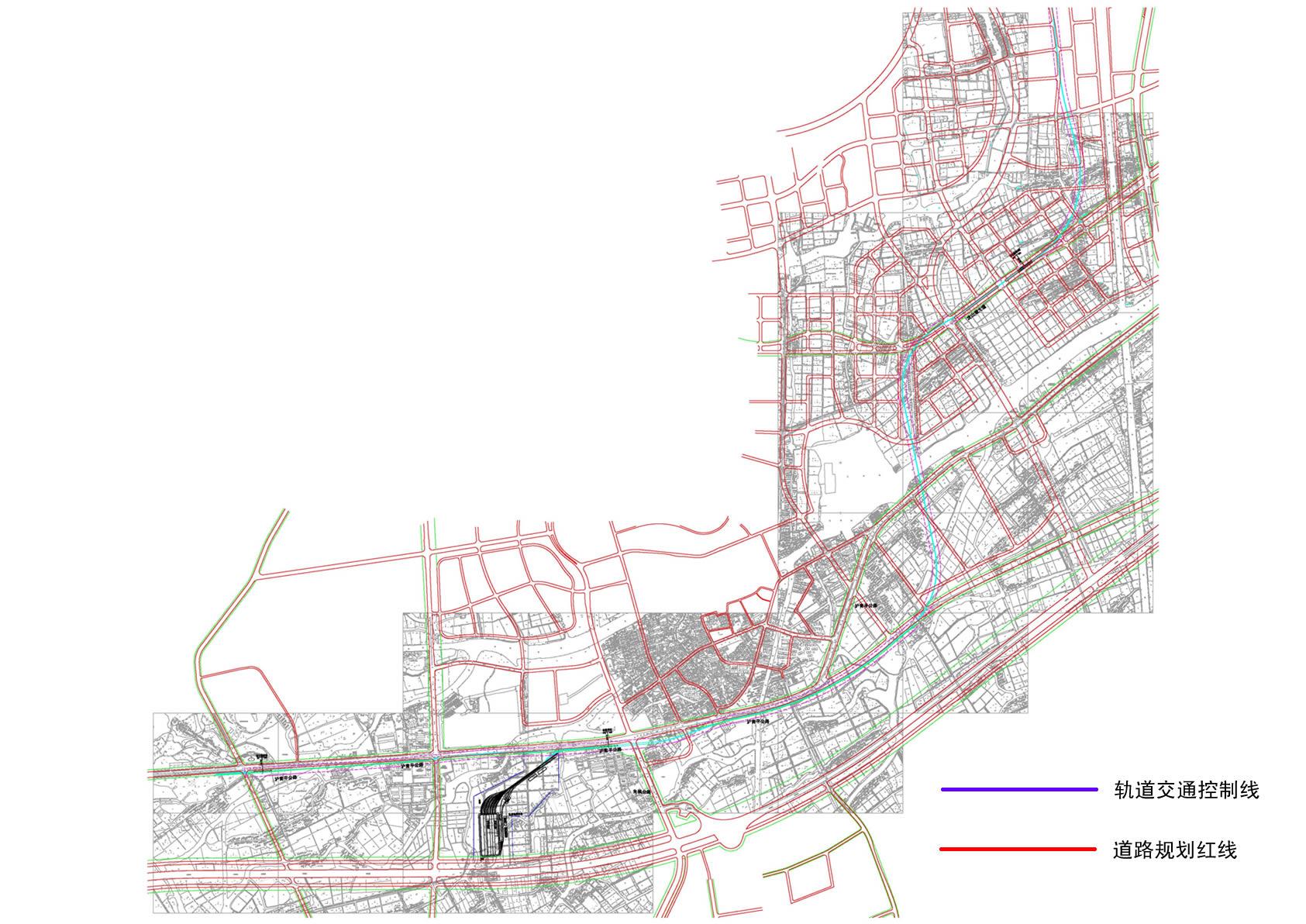虹桥商务区规划图高清