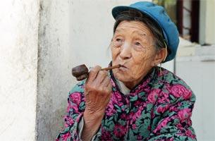 怒江117岁打兰弯中国十大寿星之十