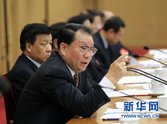 11月19日,学习型党组织建设工作座谈会在北京召开,中共中央政治局常委李长春出席会议并作重要讲话。 新华社记者刘卫兵摄