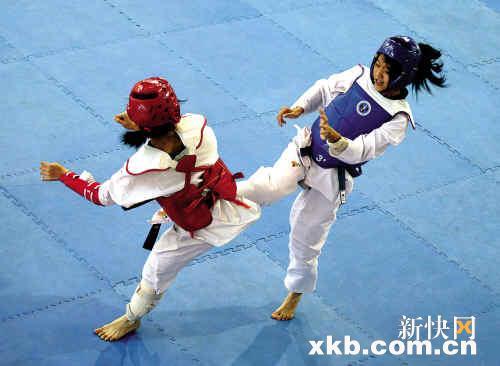 跆拳道风行广州业余v视频练出视频水平专业1失控图片