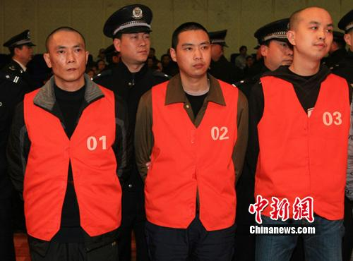 重庆谭礼彬、叶开敏等15人涉恶案在重庆第五中级人民法院公开宣判 渝五中法院供图