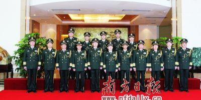 广州军区2人晋升中将 5人晋升少将_新闻中心_