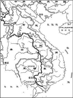 湄公河流经中老缅泰四国