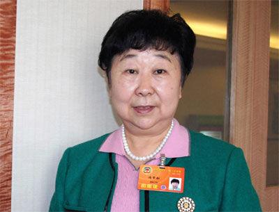 全国政协委员冯幸耘接受本网记者专访(中广网记者 李玲燕摄)