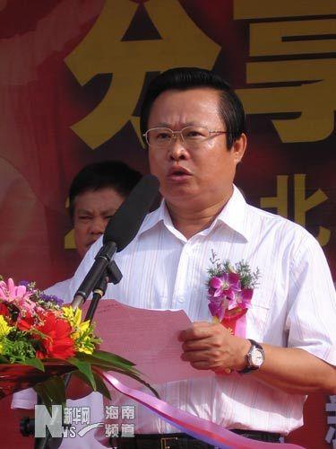 海南副省长林方略。资料图