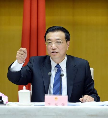 3月20日,国务院总理李克强在北京主持召开新一届国务院第一次全体会议,并发表重要讲话。新华社记者 李涛 摄