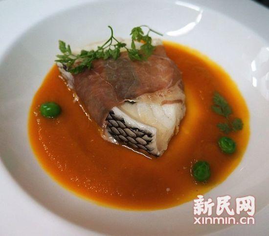 """图说:火腿银鳕鱼也是奥朗德中意的""""菜""""。"""