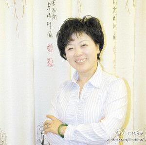 中华生产党主席卢月香 图片来源:卢月香微博