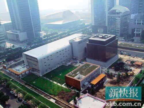 美国驻广州领事馆搬迁到新地址