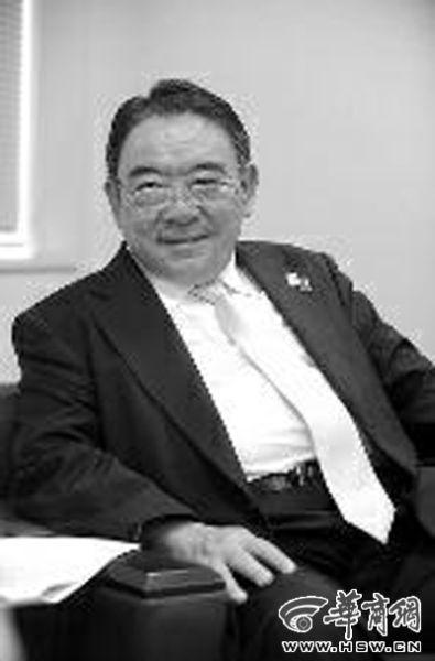 日本驻华大使木寺昌人接受本报记者专访 马捷文摄