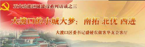 大渡口区区委书记在线答网友问:2015年西滨路全面通车