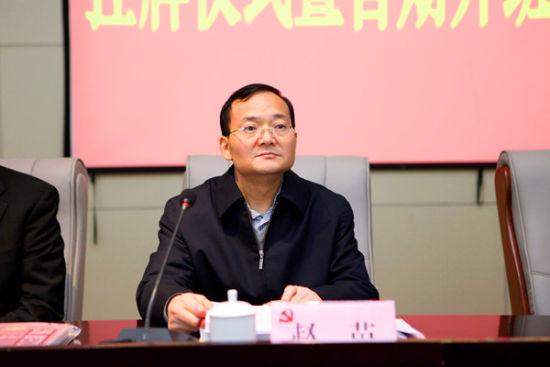 成都市委组织部长赵苗