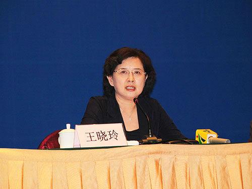 广州市委常委、纪委书记王晓玲。资料图