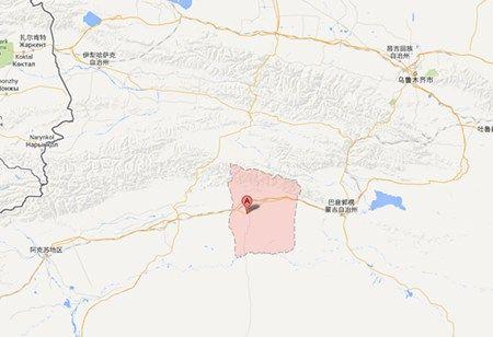 新疆轮台县位置