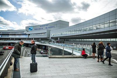 当地时间2015年1月28日,法国图卢兹机场。图/CFP