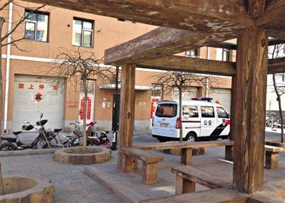 案发的百合新城社区。被害人李某某在该社区买了一套房。新京报记者 王瑞锋 摄