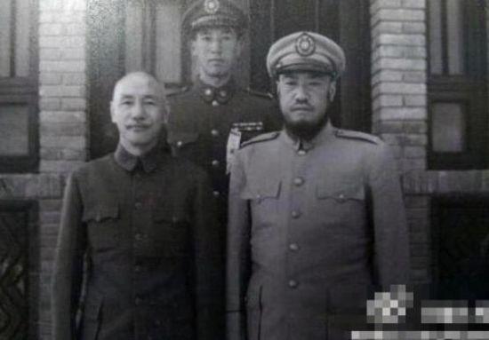 蒋介石与马步芳