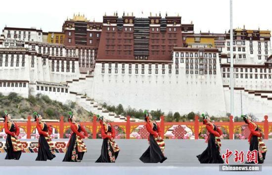 西藏。材料图