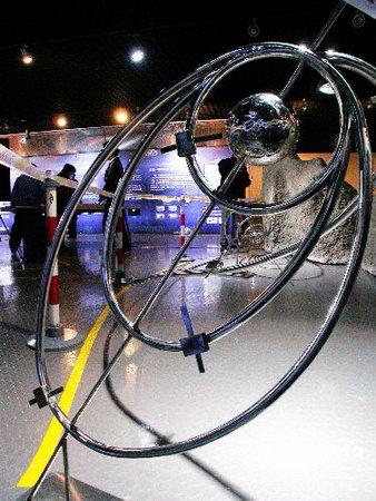 图文:嫦娥一号探月卫星模型亮相北京天文馆