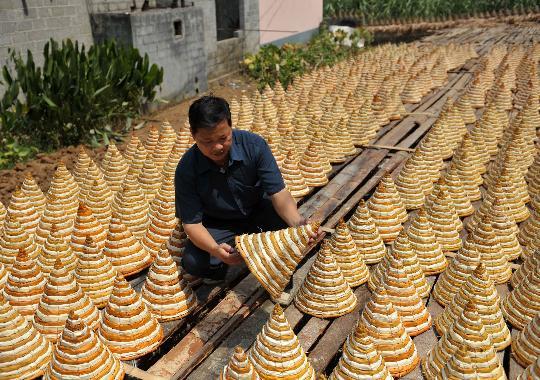 传统编织工艺品