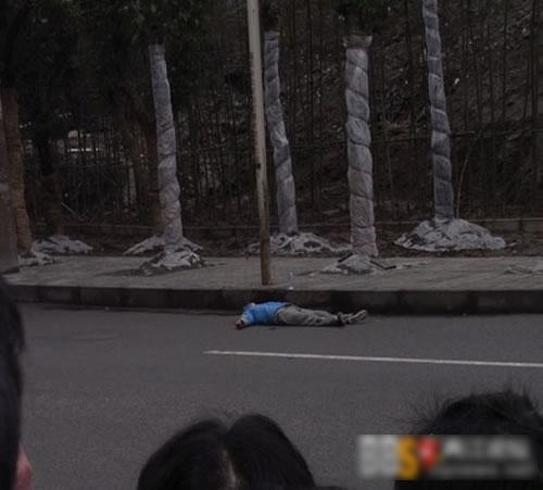 重庆发生劫持人质案疑犯被警方击毙(组图)
