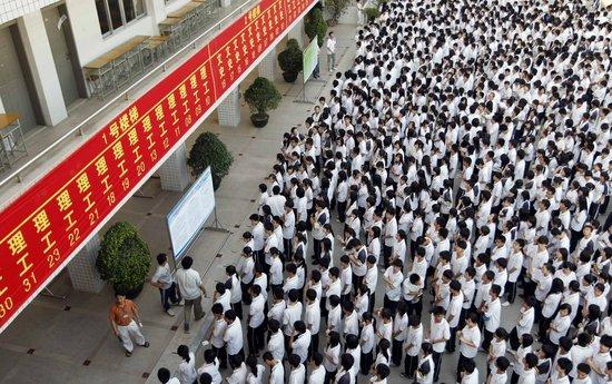 全国1020万考生今日将参加高考(图)