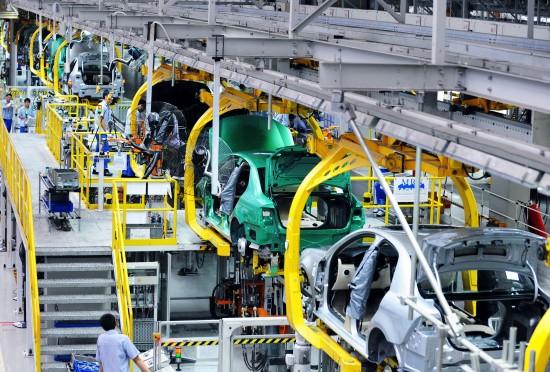 一汽大众轿车二厂生产线