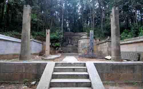 福建宁德古墓被论证为明建文帝陵(组图)