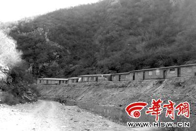 发生事故的潼关县蒿岔峪矿区已经停产 本报记者 芮潇潇 摄