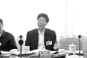 徐安代表。快报特派记者 孙兰兰 摄