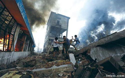 南京工厂爆炸隐患存数年两月前曾疏散数千民众