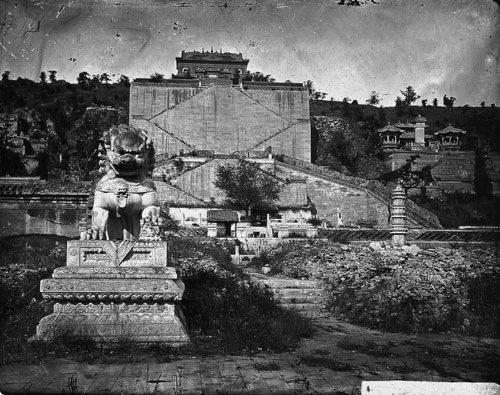 历史改变园林命运颐和园前身也曾被焚烧