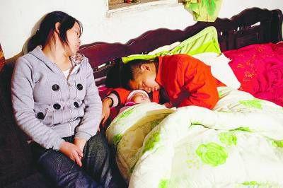 2011年11月,汪正年和彭双芹刚刚得知女儿患上重病 王辰摄