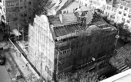青岛改造百年老楼