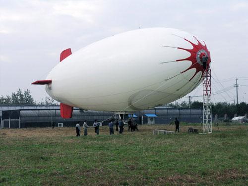 美专家:未来10年中国飞艇技术将达世界一流