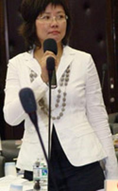 台湾政坛美女如云 媒体评最美女议员图