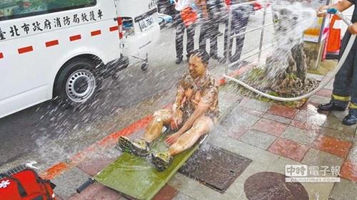 台湾男子在马英九办公楼前自焚8年来第6起(图)