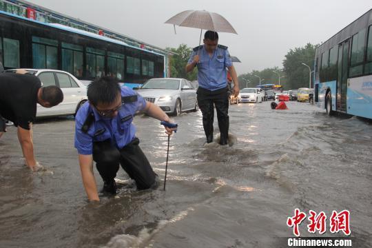南京暴雨最大降雨量211毫米 多河道临警戒水位