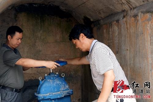 通道县县溪镇:新自来水厂工程通水运行