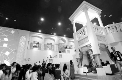 卡塔尔迎来世博国家馆日 展示环保理念