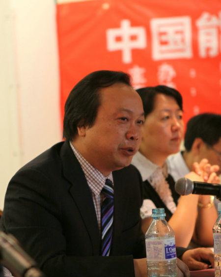双良节能系统股份有限公司董事长缪志强在演讲和回答记者提问