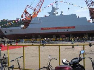 我国出口型隐身战舰首公开 设计细节曝