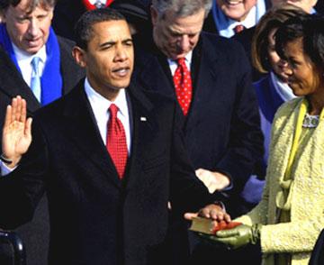 美国总统奥巴马就职演说