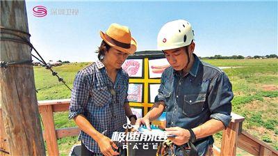 """《极速前进》因请到郑伊健和陈小春等加盟,加上全程在美国拍摄,给人一种""""高大上""""的感觉。"""